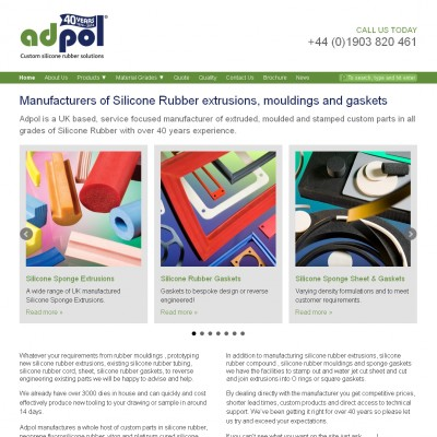 Adpol - Silicone Rubber Extruders